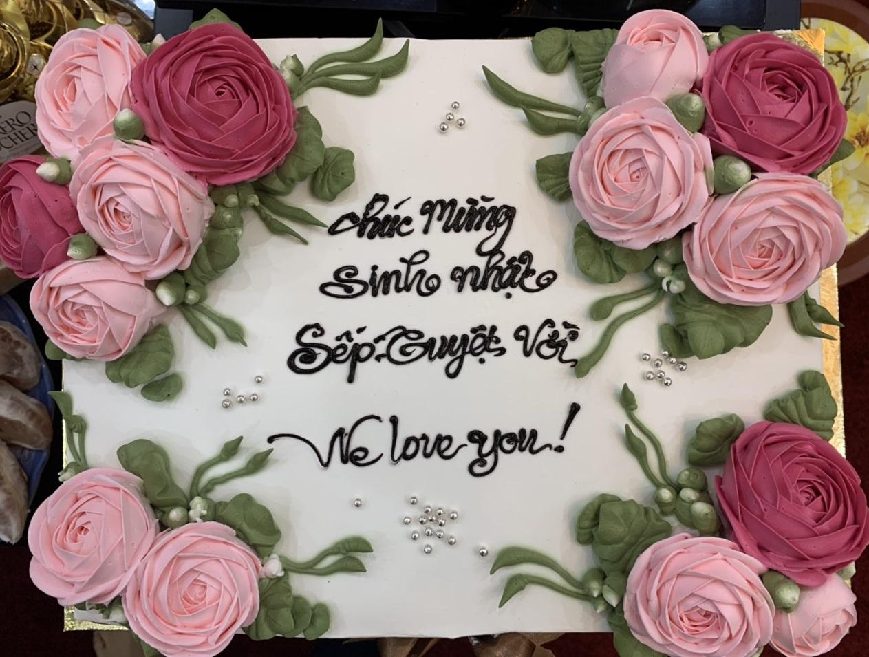 Kính chúc mừng sinh nhật Phó tổng giám đốc Ngô Kim Dung